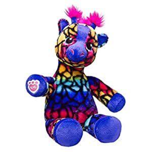 Build A Bear Wild Style Giraffe Rainbow Pattern